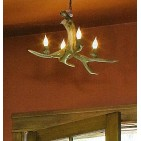 Real Antler Mule Deer Nevada Chandelier SP-3