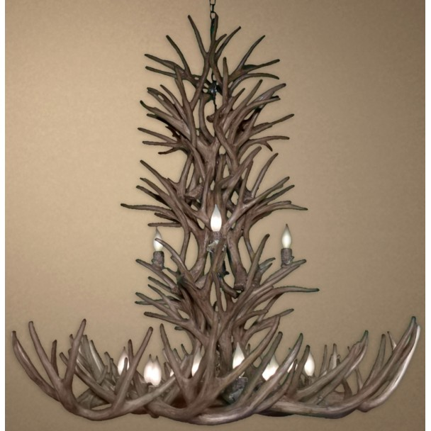 Apollo Reproduction Mule Deer Chandelier CD-FRL17